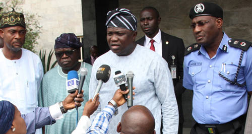 Photo of 2019: Ambode Congratulates Sanwo-Olu For Emerging APC Governorship Candidate