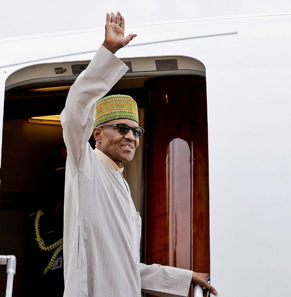 Photo of Buhari leaves Nigeria Wednesday