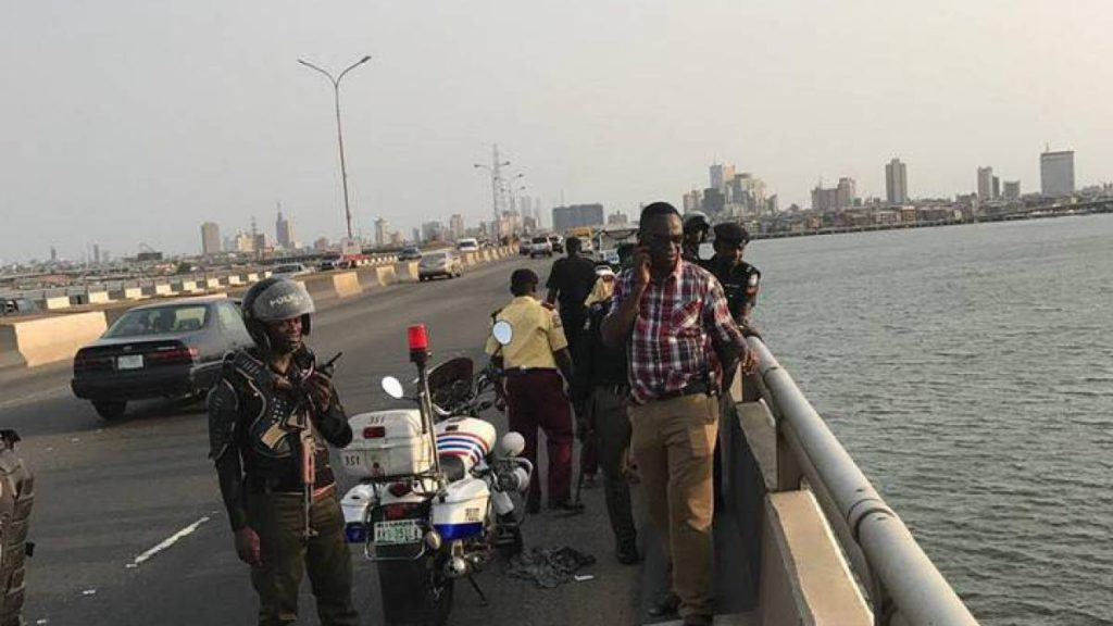 Photo of Body of man who jumped into Lagos lagoon surfaces