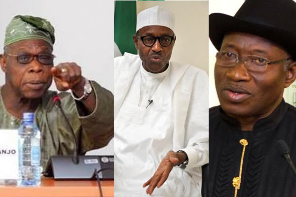 Photo of Obasanjo, Yar' Adua, Jonathan, Buhari accidental presidents – Na'Abba