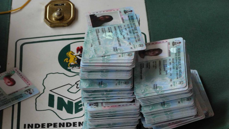 Photo of Ekiti Election: Thousands Rush To INEC Office, Demand Their PVCs