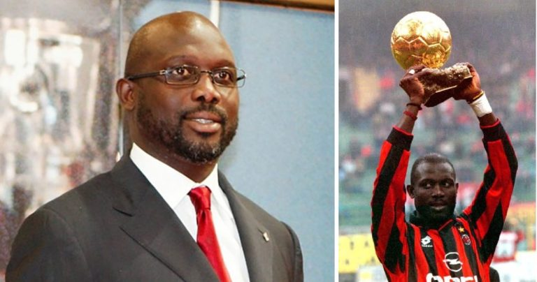 Photo of Former World Best footballer, George Weah wins Liberia Presidential election