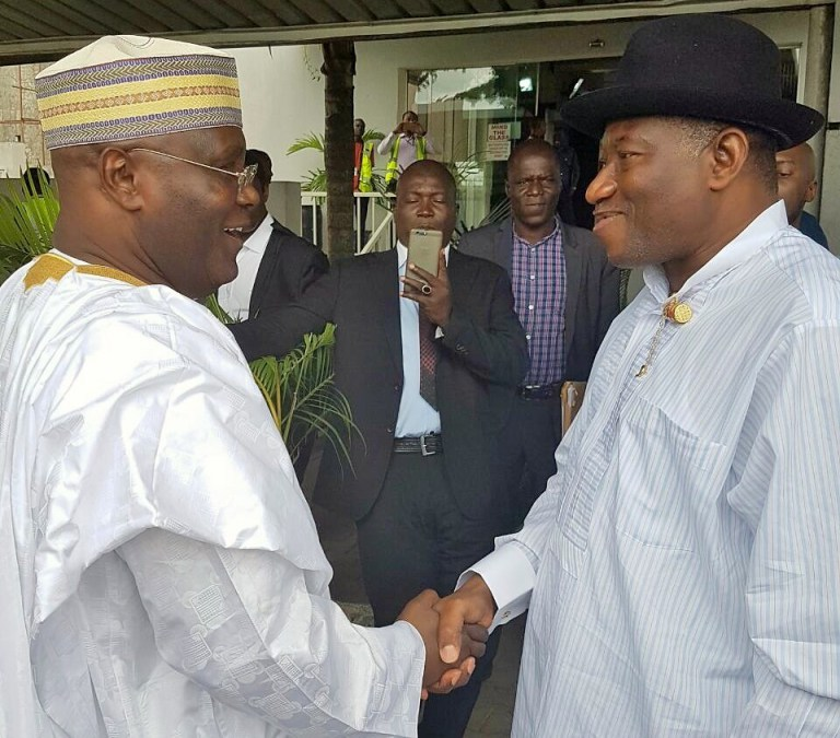 Photo of Apologise Obasanjo To Get PDP Ticket – Jonathan tells Atiku