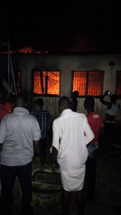 Photo of Heavy Fire At Adeyemi College In Ondo, Destroyed Documents And Properties