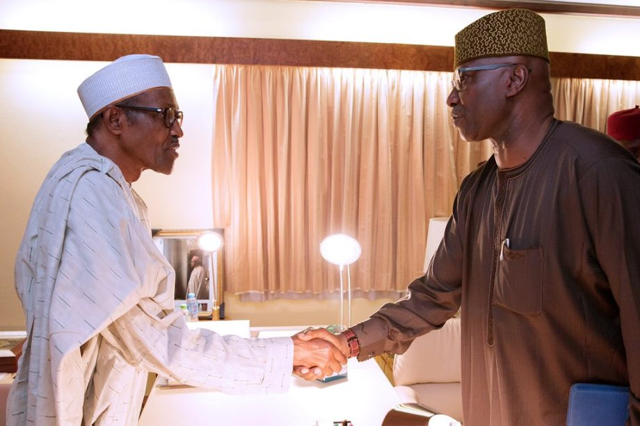 Photo of VIDEO: Buhari swears in Boss Mustapha as new SGF