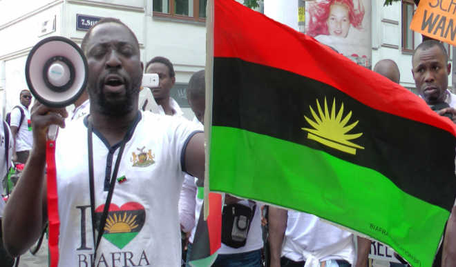 Photo of Biafra Protest Shuts Down Southern Nigeria States