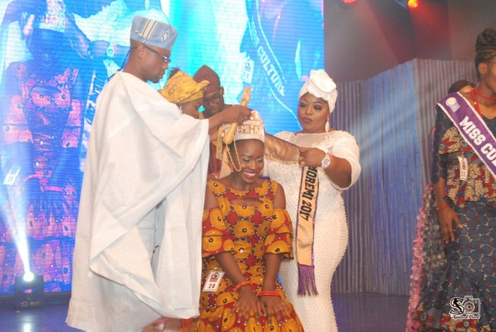 Photo of 22-Year-Old Engineering Undergraduate Emerges New Queen Moremi Ajasoro 2017