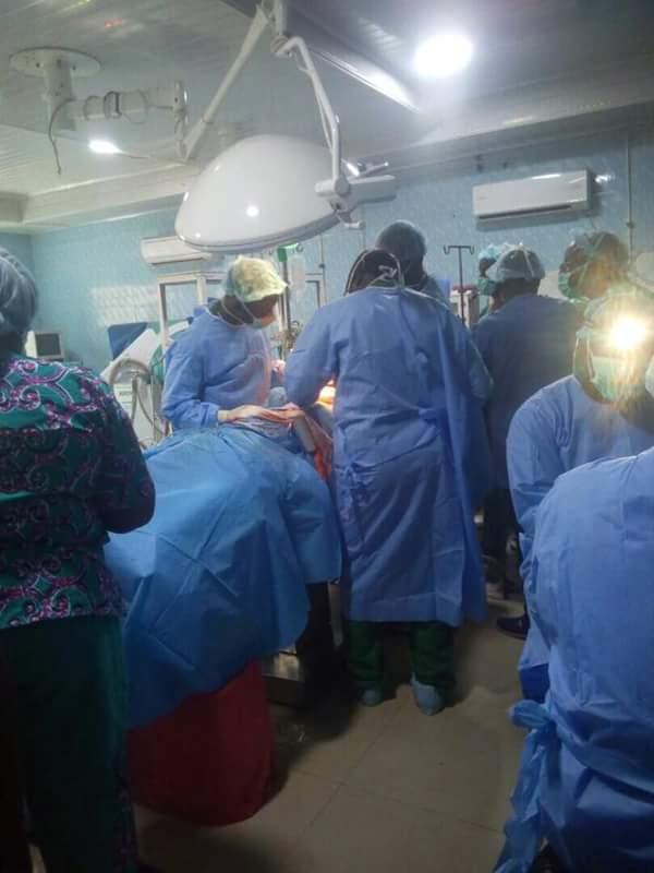 Photo of Nigerian Hospital Records First Successful Kidney Transplant Surgery