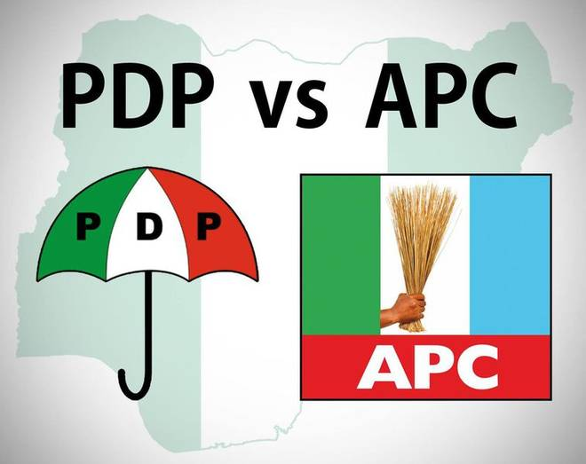 Photo of Saraki, Ekweremadu Not Above Arrest – APC Tells PDP