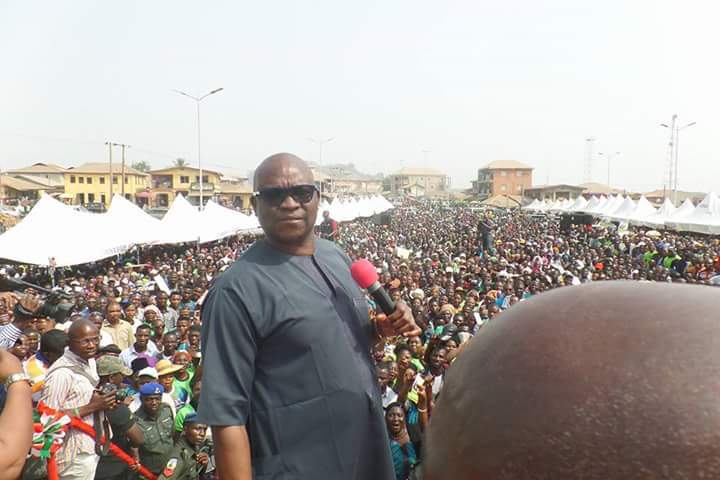 Photo of No apologies for supporting my deputy for Ekiti governorship ―Fayose