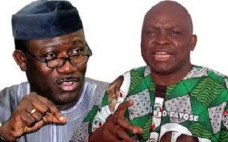 Photo of Ekiti guber: APC accuses Fayose of destroying Fayemi's billboard, petitions IGP, DSS