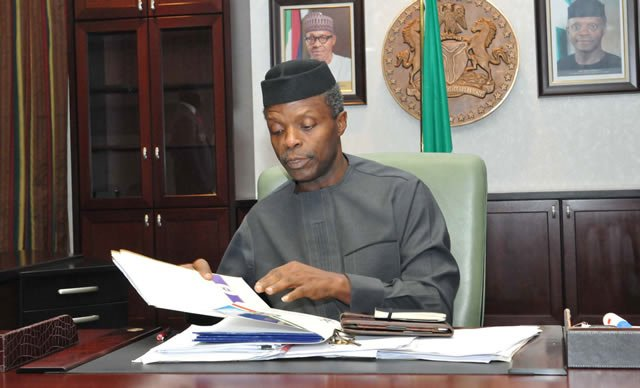 Photo of Acting President, Yemi Osinbajo Sacks DSS Boss, Lawal Daura