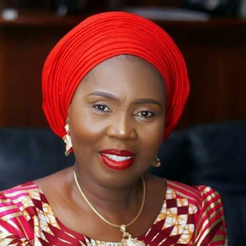 Photo of Akeredolu's wife 'taken over' as Ondo Governor