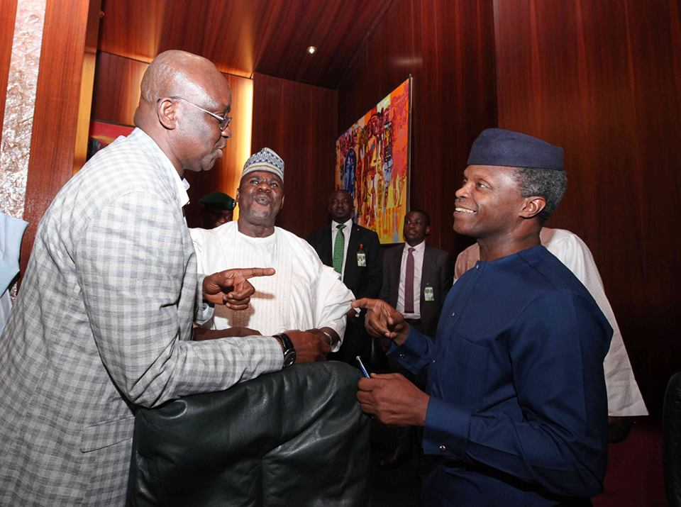 Photo of PDP has offloaded corrupt elements to APC- Fayose Blast Osinbajo