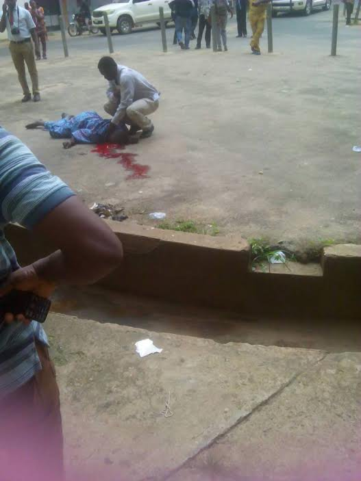 Photo of Man Jumps From The Fifth Floor Of The UCH Ibadan In Apparent Suicide