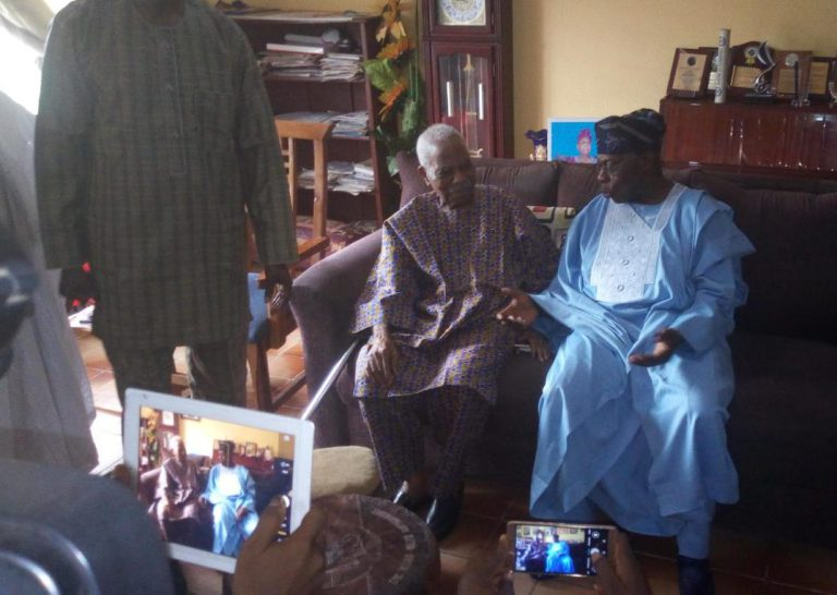 Photo of 2019: Obasanjo In Closed-door Meeting With Afenifere