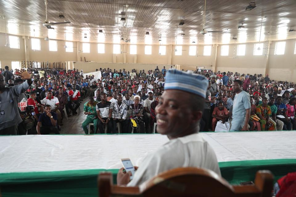 Photo of Saraki Will Be Jailed If I Become Nigeria President – Sowore Vows To Liberate Kwara