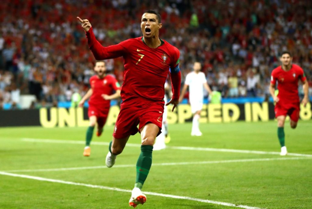 Photo of World Cup 2018: Cristiano Ronaldo Set New Records In Spain, Portugal Draw