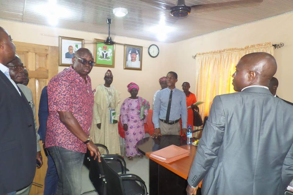 Photo of Release Workers' Promotion Letters or Face Sack – Fayose Tells Commission