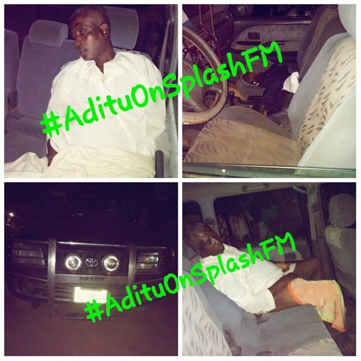 Photo of Man Found Dead In His Jeep In Ibadan
