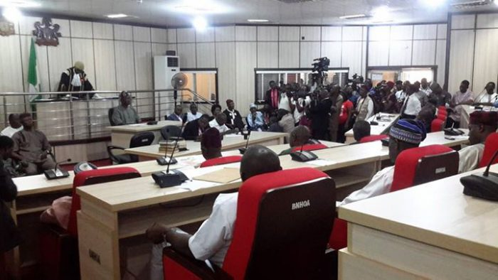 Photo of Tension In As Benue Assembly Suspends Okloho, Adanyi, Six others