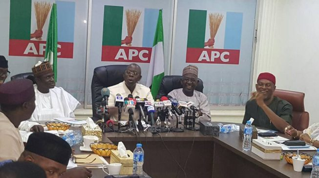 Photo of APC Primaries: Adopting Sole Candidate Is Illegal, Oshiomhole Warns State Chairmen