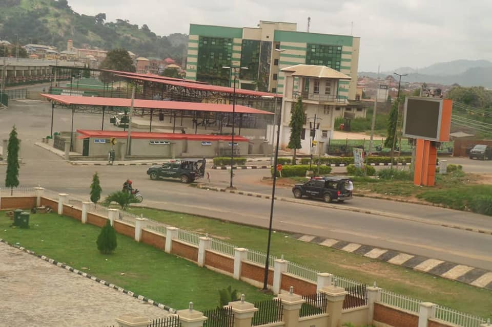 Photo of Soldiers Patrol Round Ekiti Town Over Outcome Of Governorship Election