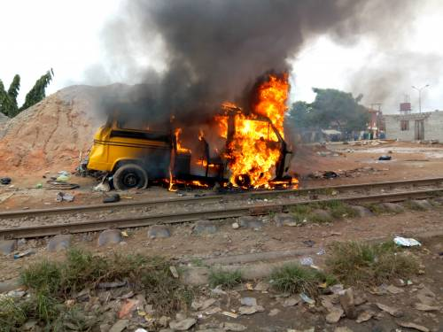 Photo of Nine Killed In Agege Train Accident Caused By 'Danfo' Driver