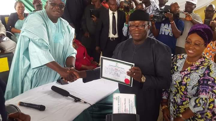 "Photo of INEC Did An ""Excellent Job"" – Fayemi"