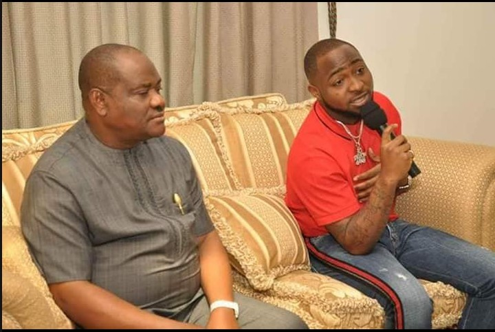 Photo of Governor Wike Hosts Davido, His Crew In Rivers Govt House