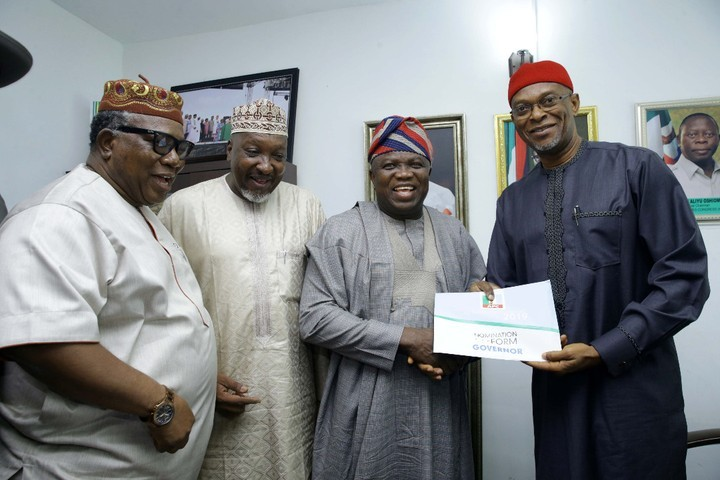 Photo of Lagos Gov, Ambode Obtains Governorship Re-Election Form