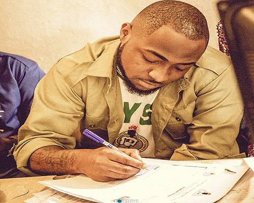 Photo of NYSC Cancels Davido's One-Year Service Program