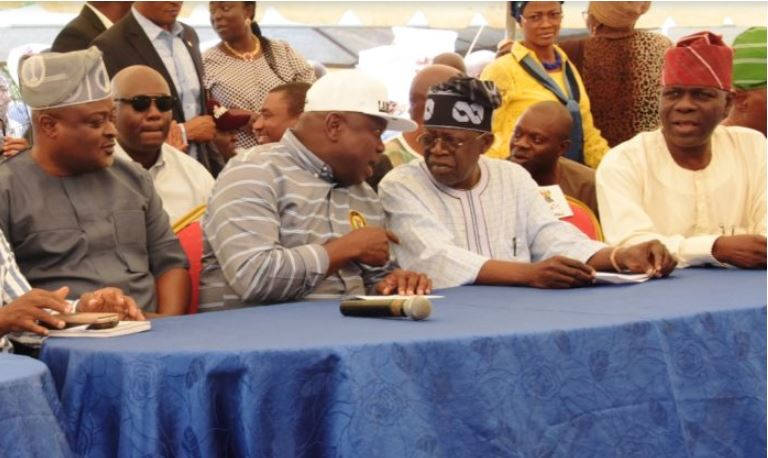 Photo of Lagos 2019: Tinubu's Men Hold Secret Meeting Against Ambode's Second Term [VIDEO]