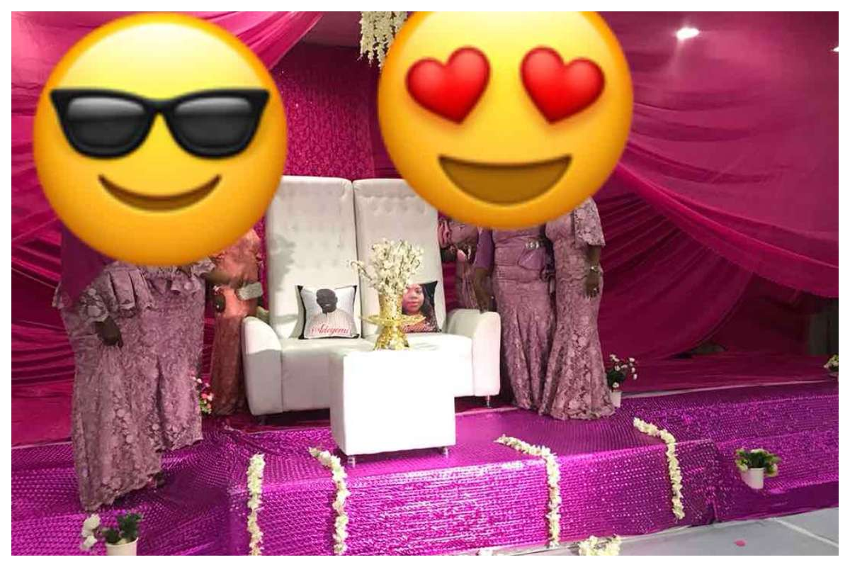 Photo of Couple Absent On Wedding Day, Wed With Photos In Lagos