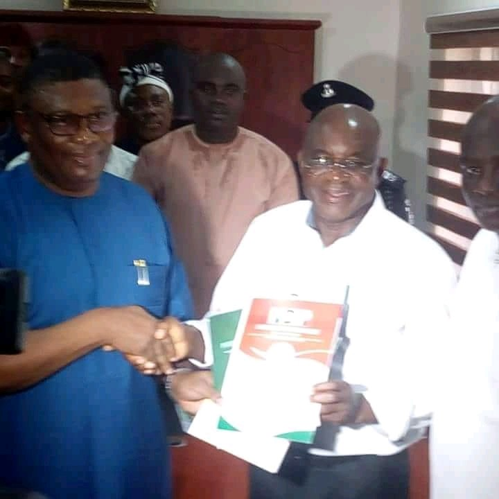 Photo of 2019: David Mark Obtains PDP Presidential Form