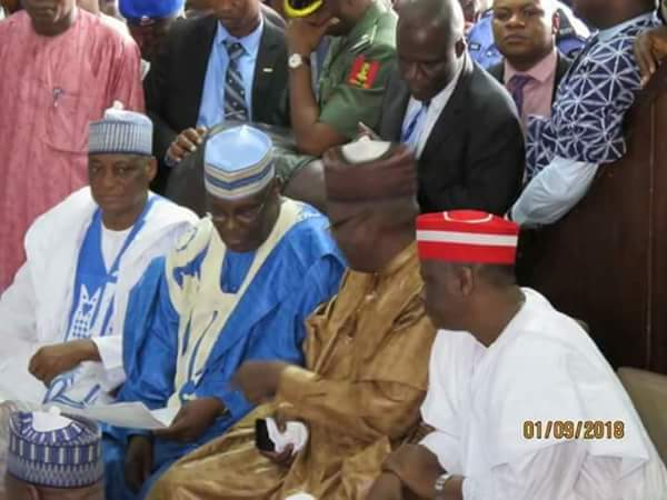 Photo of [PHOTONEWS] Makarfi's Son's Wedding: Atiku, Lamido, Kwankwaso, Others Attend