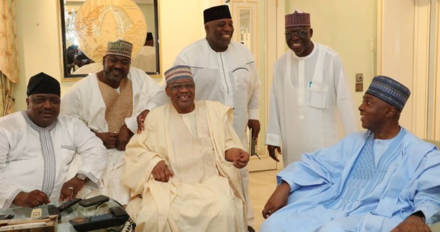 Photo of You are well prepared for Presidency – Babangida tells Saraki