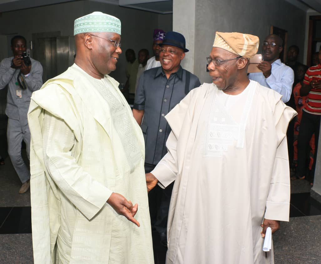 Photo of BREAKING: Obasanjo Endorses Atiku Abubakar For President