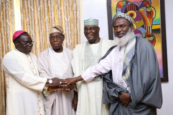 Photo of How I Convinced Obasanjo To End The Feud With Atiku – Bishop Kukah
