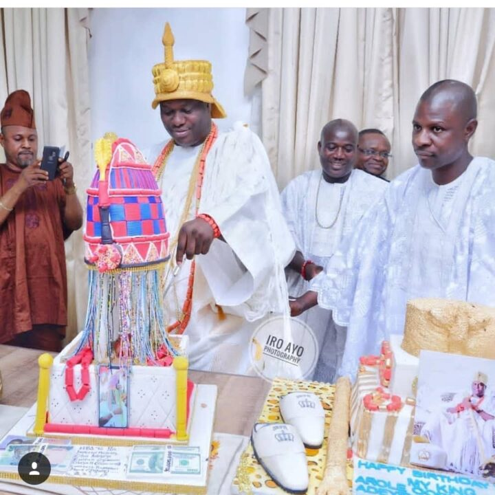 Photo of PHOTOS: Ooni Of Ife Celebrates His 44th Birthday In Style