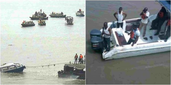 Photo of Three Dead, Others Missing As Boat Carrying 20 Passengers Capsizes In Lagos