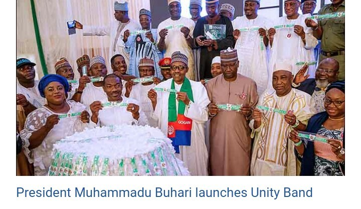 Photo of Buhari launches unity band ahead of the presidential campaign, Preaches Peace