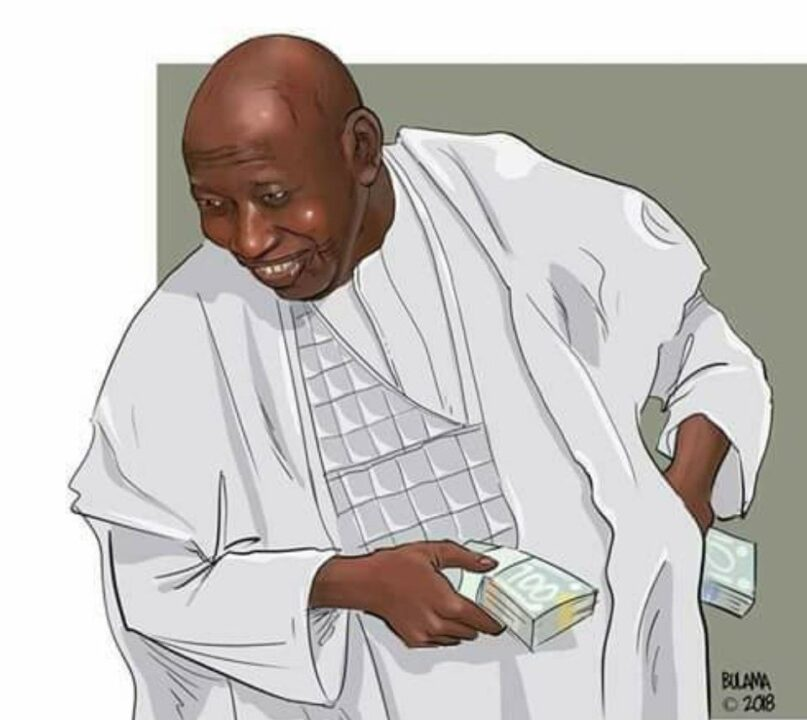 Photo of Ganduje Sues Daily Nigerian For N3billion Over Dollar Videos