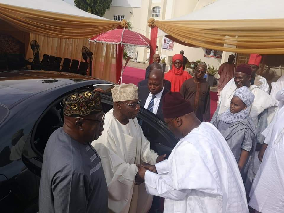 Photo of 2019 Elections: Jonathan, Obasanjo, Sambo, Governors Storm Yola For Atiku