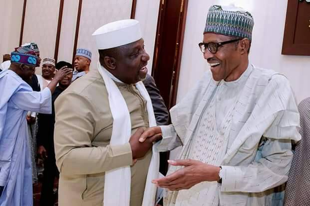 Photo of Okorocha Meets Buhari In Aso Rock