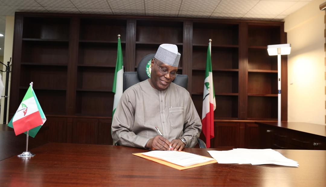 Photo of 2019 Elections: PDP Presidential Candidate, Atiku signs peace accord in Abuja