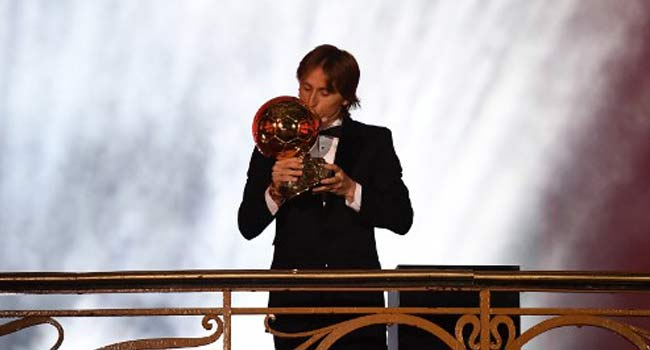 Photo of BREAKING: Luka Modric Wins Ballon d'Or