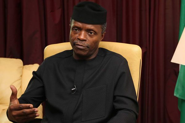 Photo of Defend Nigeria With Your Lives, Osinbajo Tells Military