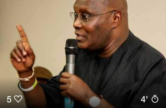 Photo of 2019 Elections: Buhari Needs Mental Test – Atiku