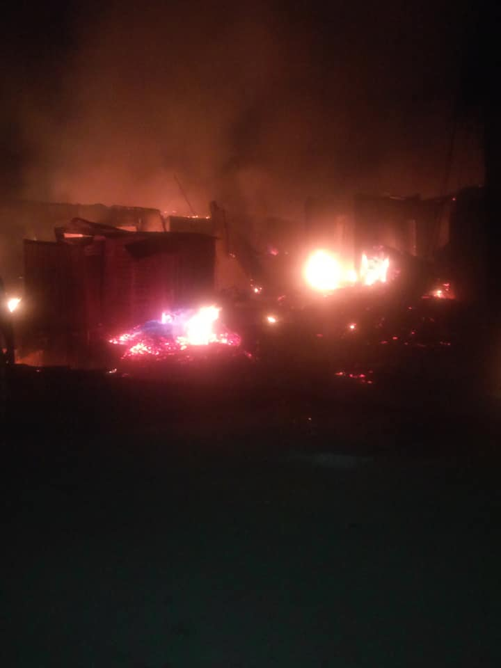 Photo of Tension In Abule-Egba As Pipeline Explosion, Vehicles, Houses Razed